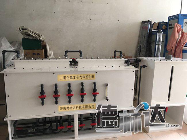 二氧化氯发生器是如何设计实现污水处理
