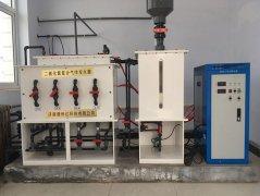 远程控制器在电解法二氧化氯发生器上应用的好处