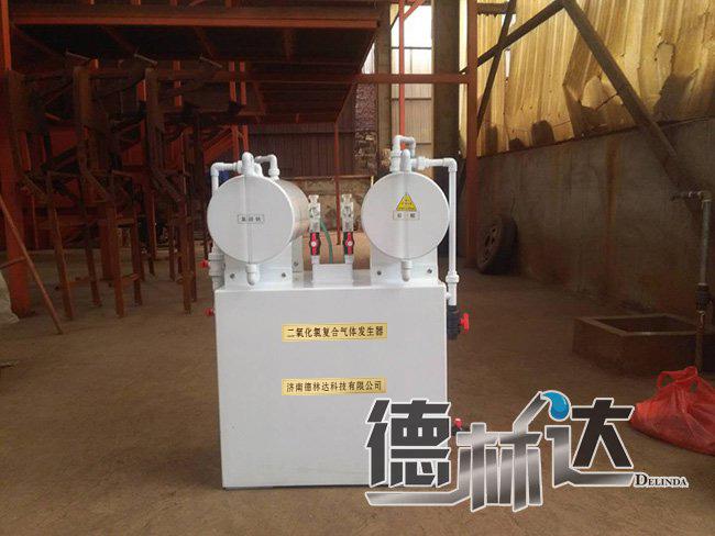 二氧化氯发生器产品主要性能以及特点