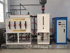 电解法二氧化氯发生器的应用